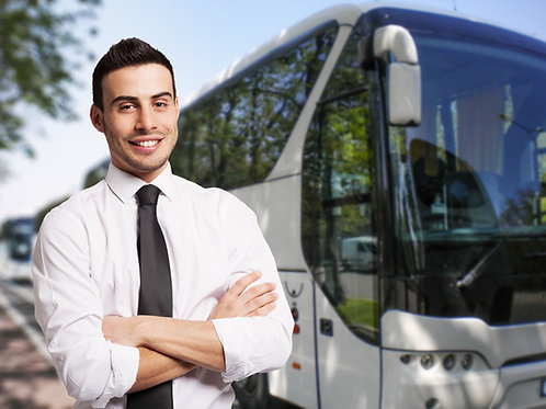 Bus-Driver-Standing-Outside-of-Bus-Family-in-New-York-Tours