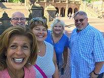 Tour group selfie with Hoda