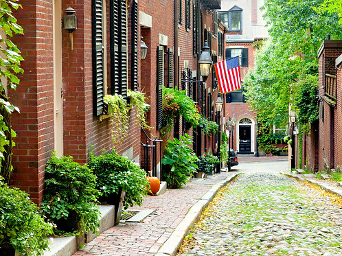 Acorn-Street-in-Boston-Family-in-New-York-Tours
