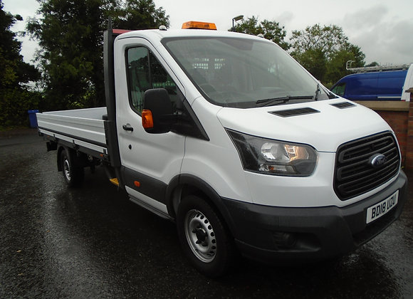 2018 FORD TRANSIT 350 13ft6 ALLOY DROPSIDE 130HP