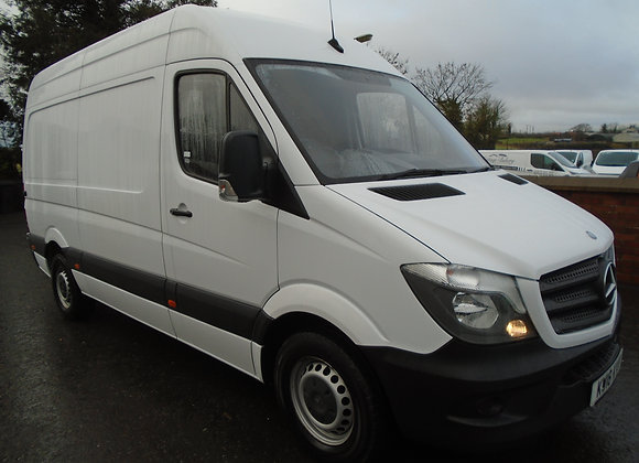2018 MERCEDES BENZ SPRINTER 314CDI MWB HR.