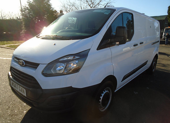 2018 FORD TRANSIT CUSTOM LWB 130HP