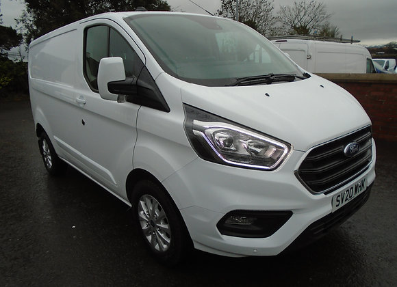2020 FORD TRANSIT CUSTOM LIMITED 170HP.