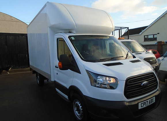 2017 FORD TRANSIT350 13ft6 LUTON C/W TAILLIFT