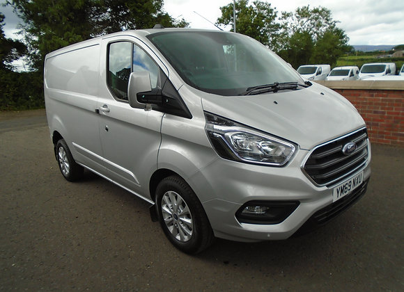 2019 FORD TRANSIT CUSTOM LIMITED 130HP SWB