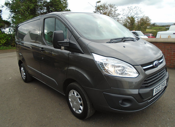 2017 FORD TRANSIT CUSTOM TREND SWB 130HP