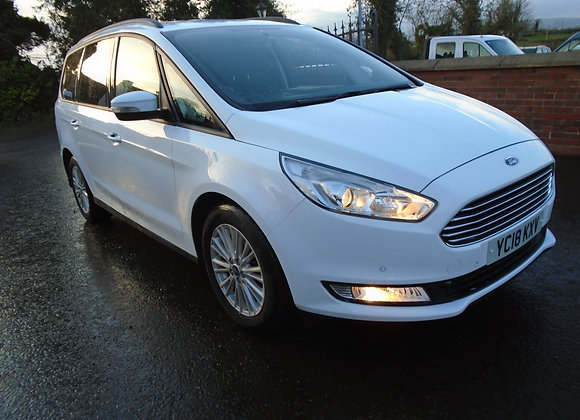 2018 FORD GALAXY 2.0TDCI ZETEC AUTOMATIC