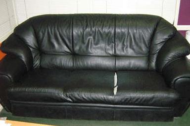 Перетяжка дивана экокожа до
