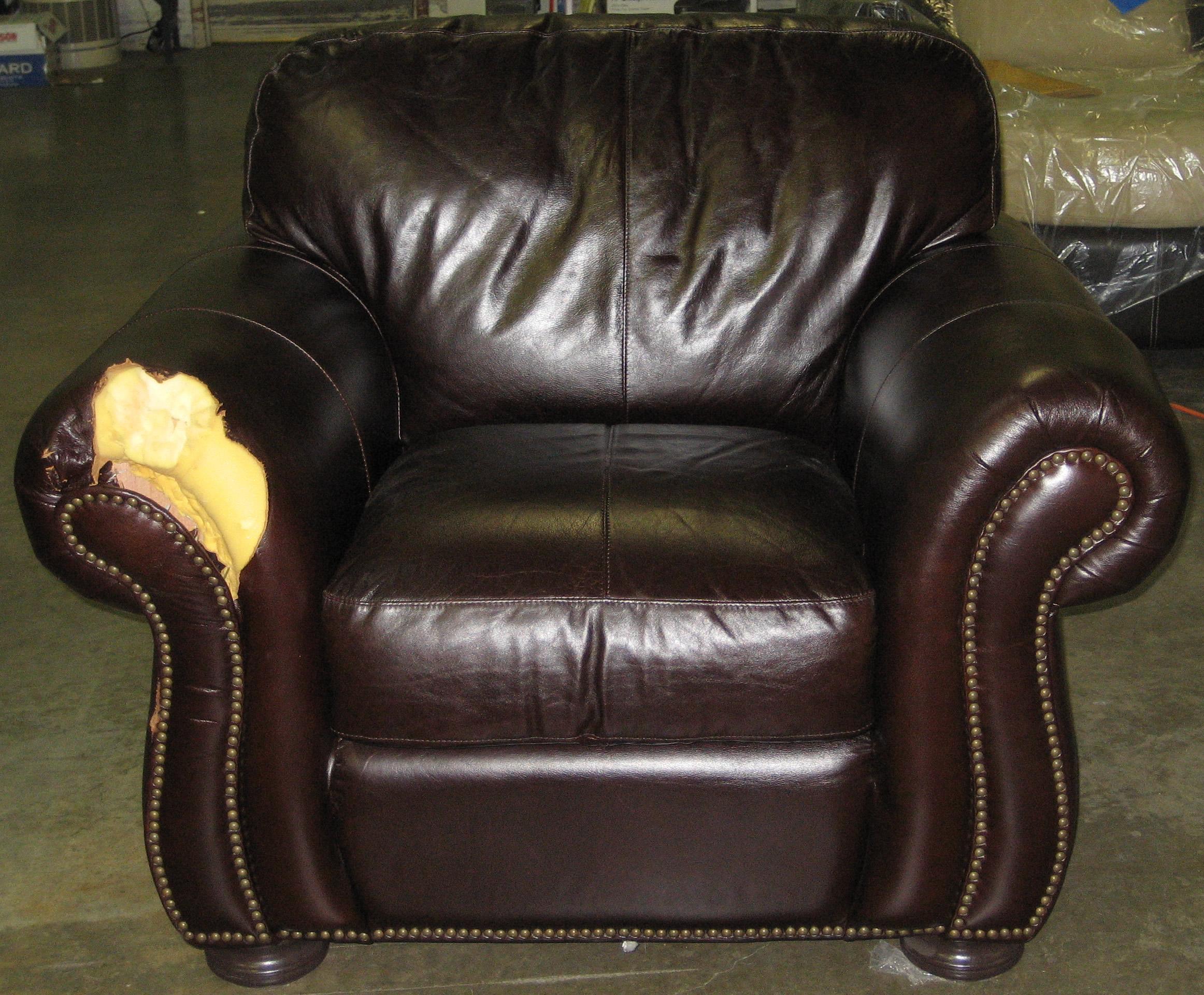 Ремонт кресла до