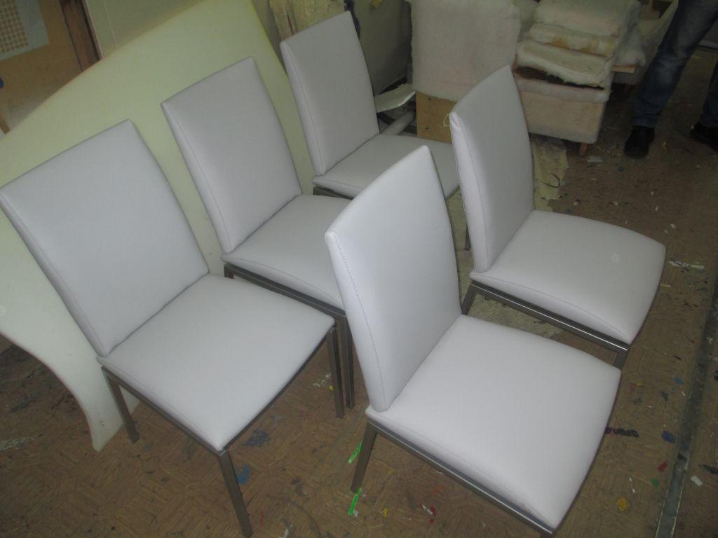 Обивка стульев после