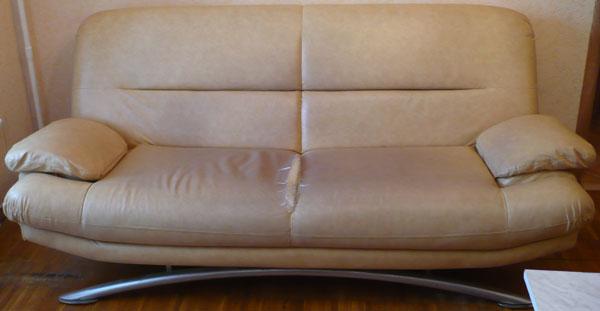 Перетяжка диван флок до