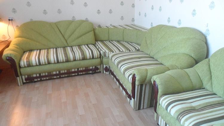 Перетяжка мебельного гарнитура после