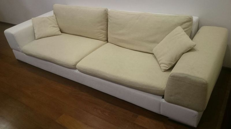 Перетяжка дивана велюр до