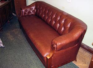 Ремонт дивана после