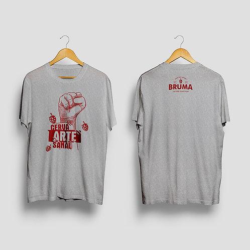 Camiseta Bruma Cinza