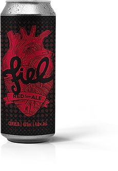 Lata Bruma Fiel Red Love Ale