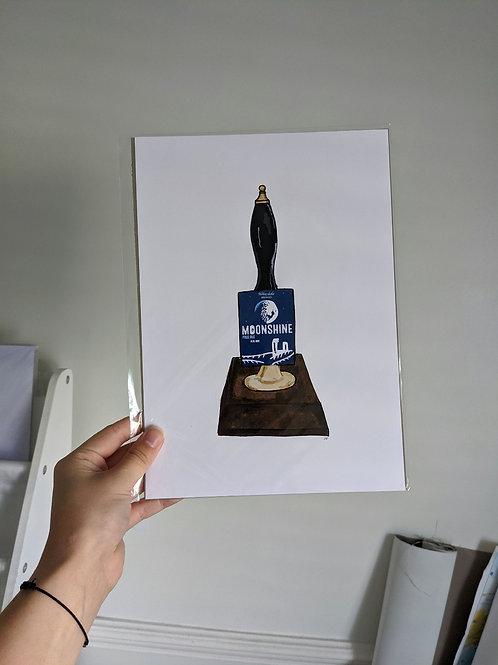 Moonshine Beer Tap - A4
