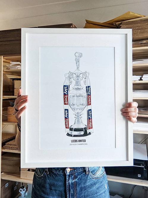 Football Championship Trophy