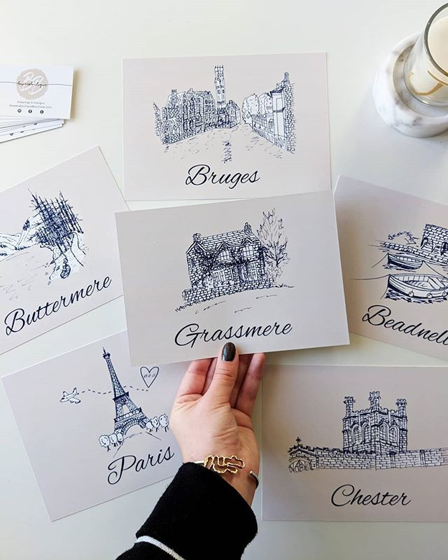 Bespoke Table Name Cards