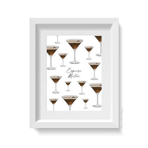 Espresso Martini Print - Multiple