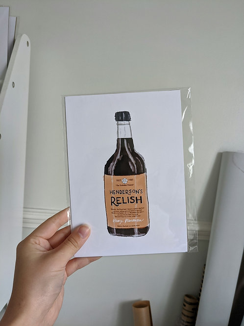 A5 Henderson Relish Print
