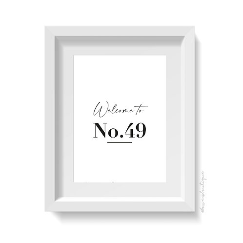 Welcome to No. Print