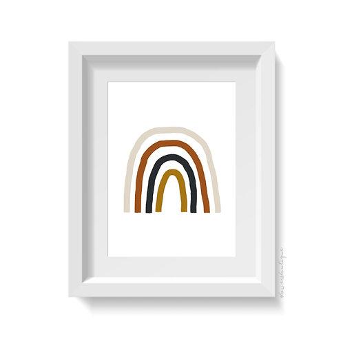 Boho Rainbow Print