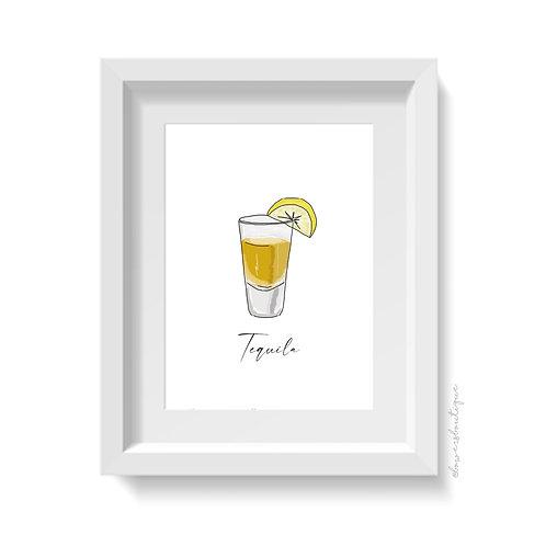 Tequila Print