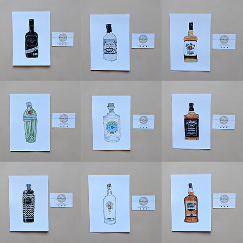 Bottle Illustrations