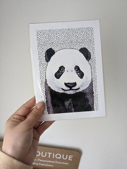 A5 Panda Dot Print - Small dents in edges