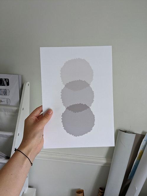 A4 Beige Dots