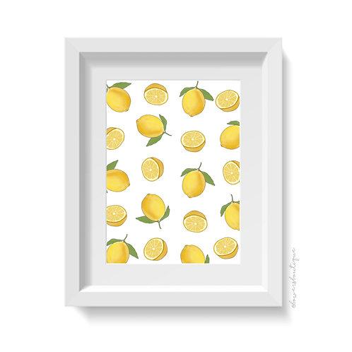 Lemon Print - Multi