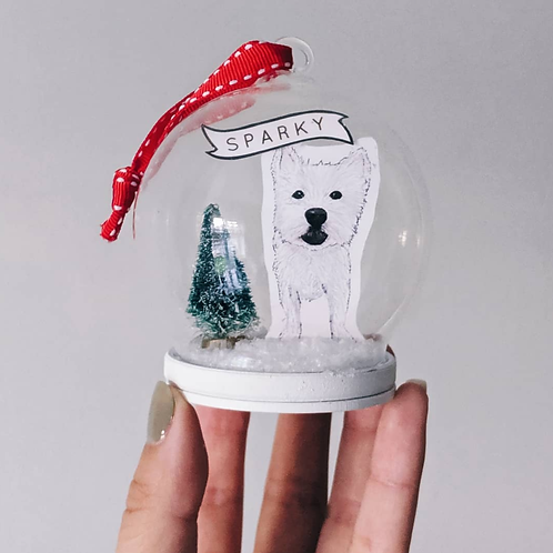Pet Illustration Bauble