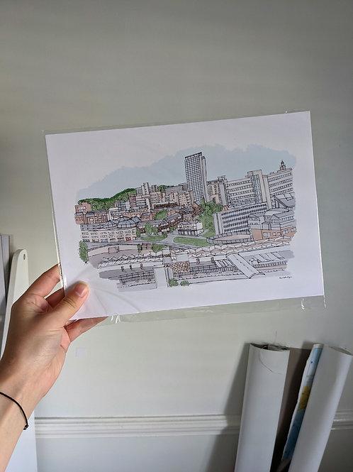 Sheffield Skyline A4
