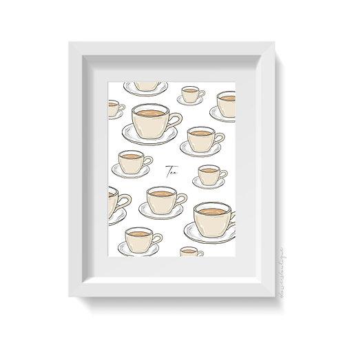 Cup of Tea Print - Multiple