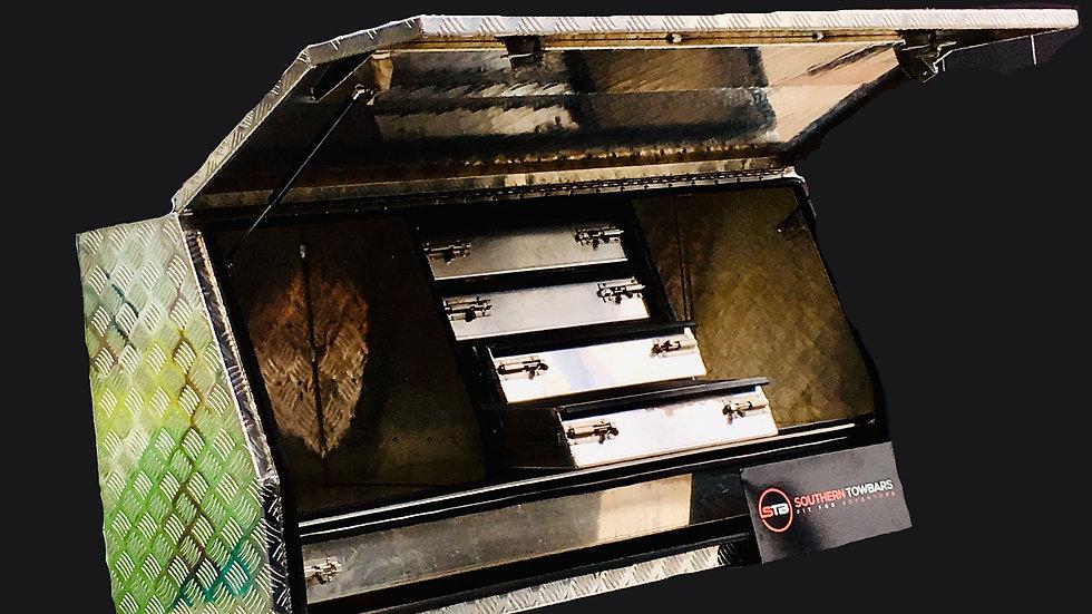 Aluminium Tool Box 1400 x 500 x 700 mm