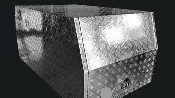 Aluminium Canopy 800 x 1770 x 860 mm