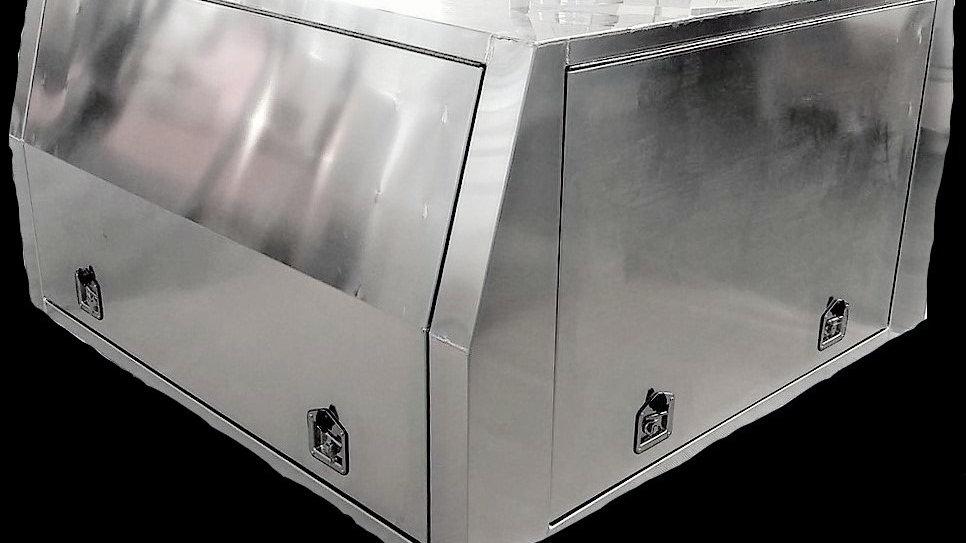 Aluminium Flat Plate Canopy 1800 x 1800 x 860 mm