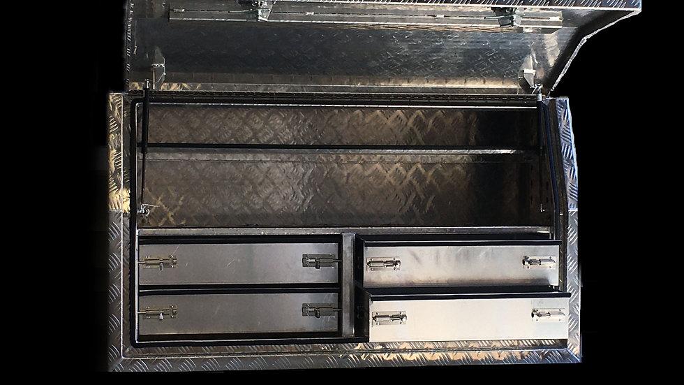 Aluminium Tool Box 1450 x 550 x 850 mm