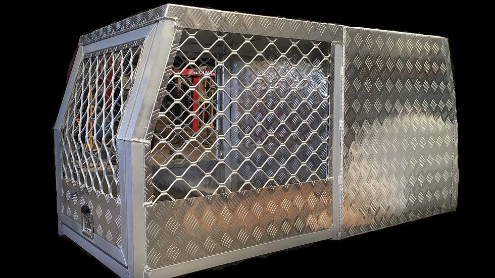 Aluminium Dog Box, 800x1770x860mm