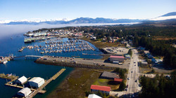 Drone Pic of Harbors