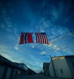 Flags over Petersburg