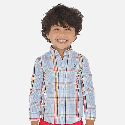 Mayoral plaid shirt