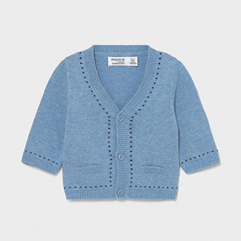 Mayoral dot accented cardi