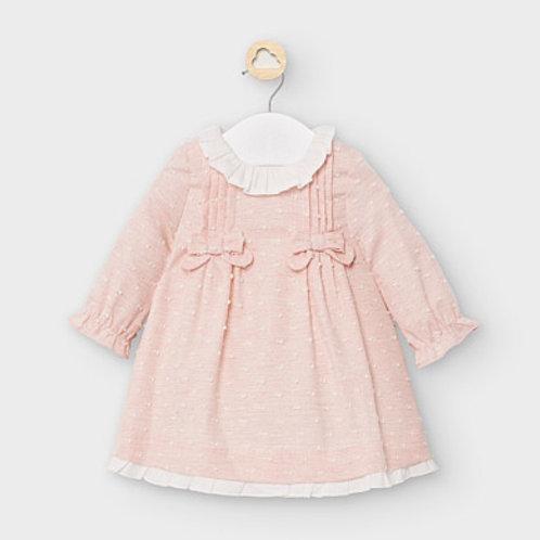 Mayoral swiss dot cotton dress