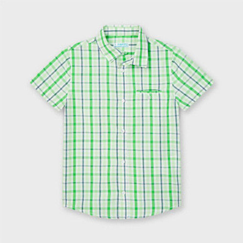 Mayoral spring plaid s/s shirt