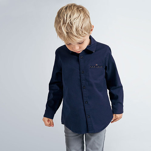 Mayoral Navy button down shirt