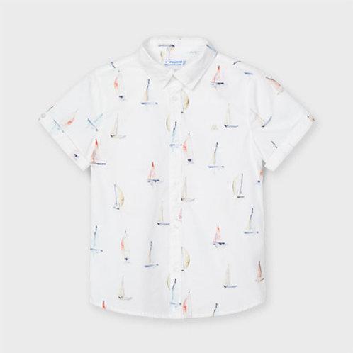 Mayoral sailboat s/s shirt