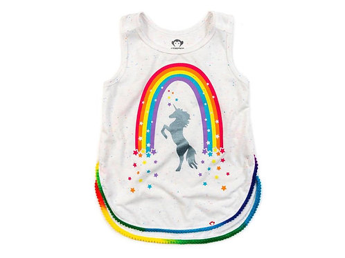 Appaman unicorn/rainbow tank