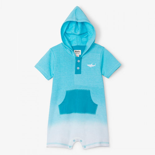 Hatley ombre dyed terry hooded jumper